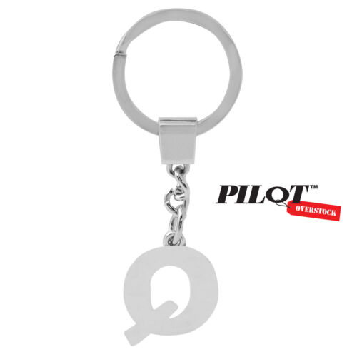 Pilot Automotive Chrome Letter Q Key Chain US SELLER FAST SHIPPING