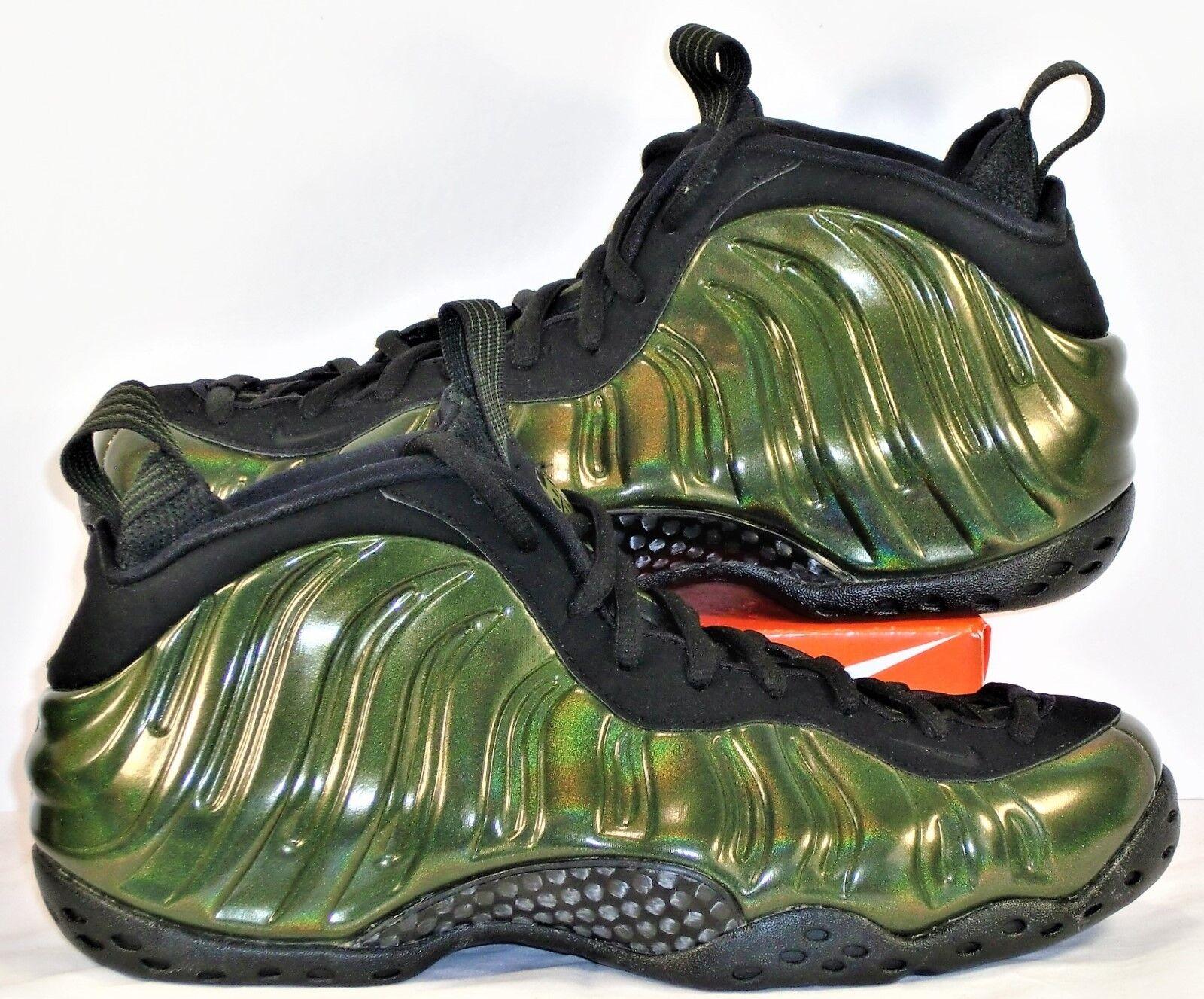 Nike Air Foamposite Posite One Legion Green & Black Sz 9 NEW 314996 301