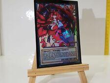 YuGiOh Orica Black Rose Dragon Holo  Custom Super Yu-Gi-Oh! Super Custom