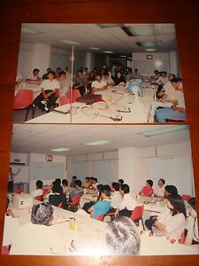 Singapore-1987-Color-Photos-People-attending-Investment-Talk-at-Shenton-Way