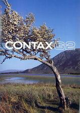 Contax G2 Prospekt brochure - (0645)