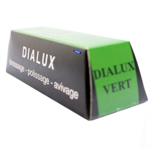 Dialux Green Polishing Rouge Compound Vert For Chrome /& Hard Metals Jewelry