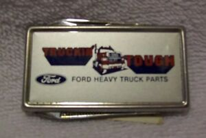 Rare Ford 1989 Team Thunderbird Auto Car Employee Lapel Hat Pin Tie Tac New MIB