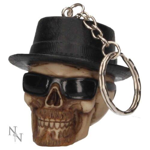 Free P+P BADASS Skull Keyring by Nemesis Now Heisenberg Breaking Bad Key Ring