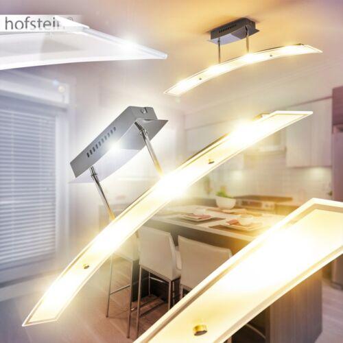 LED Design Decken Leuchten Wohn Schlaf Zimmer Beleuchtung Flur Küchen Lampe Glas