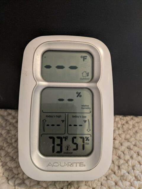 Acu-Rite Model 00611RX Wireless Weather Station-Indoor Unit Only-Works Great
