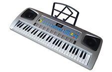 Fun Keyboard, 54 Tasten, Lernfunktion, Notenhalter, Netzteil, 100 Sounds/Rythmen