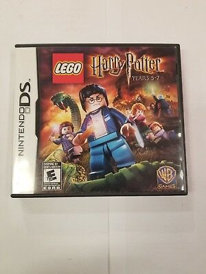 no Game Included nintendo Ds Lego Harry Potter 5-7 Reliable Performance **replacement Case Only**