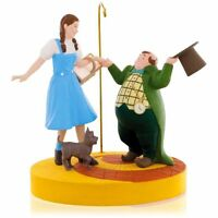 Ding-dong The Witch Is Dead 2015 Hallmark The Wizard Of Oz Dorthy Toto Munchkin