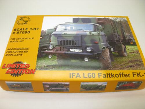 1:87 HO NEU #87090 Kit IFA L60 Faltkoffer FK1 Z/&Z Exclusive Modell-bausatz