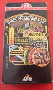 VHS-Movie-That-039-s-Entertainment-MGM-Musicals-Dances-and-Songs
