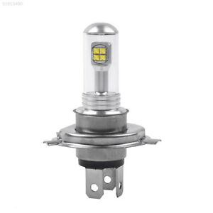 Dc 12v H4 Motorcycle Highlow Beam Whit Cob Super Details Headlight 7668 About Bright Led Bulb SVjqzUGLMp