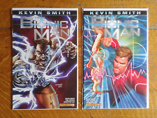 NEW THE BIONIC MAN #1 AND #2 KEVIN SMITH VARIANT COVER COMIC 1ST PRINTING EX++