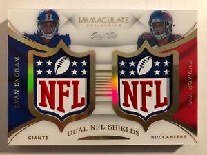 2017-Immaculate-Football-Dual-NFL-Shields-Engram-and-Howard-1-1-Giants-Bucs