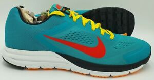 Nike Zoom Structure 17 Trainers 615587-306 Tribe Green/Yellow  UK14/US15/EU49.5