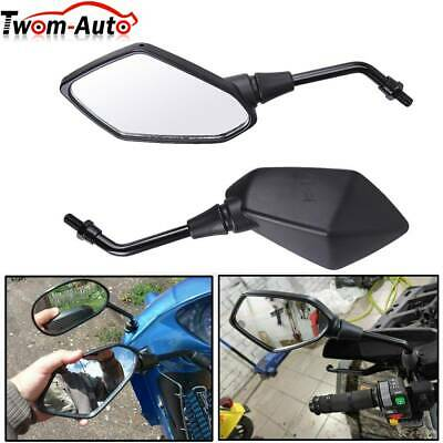 1Pair Motorcycle Rearview Rear View Side Mirror 10mm for HONDA CBR929 01 Suzuki