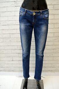 GUESS-Donna-Jeans-Blu-Slim-Taglia-31-Pantalone-Pants-Woman-Casual