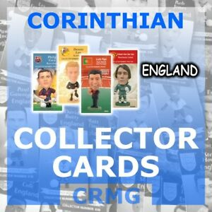 CRMG-Corinthian-ProStars-COLLECTOR-CARDS-TEAM-ENGLAND-choose-from-list