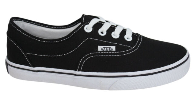 9a6621b409faef Vans Off The Wall LPE Black White Lace Up Unisex Canvas Trainers JK6Y28 D7