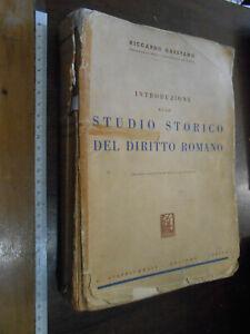 libro-DIRITTO-ROMANO-1961-di-RICCARDO-ORESTANO-dedica-e-autografo-firma