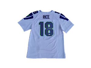 Details about Sidney Rice Signed Seattle Seahawks (Away White) Jersey JSA