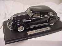 1936 Chrysler Airflow Model 1/18 Diecast Signature 2f08 Black