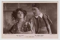 "POSTCARD - Lily Elsie & Joseph Coyne, fabulous ""Merry Widow"" costume, actress"