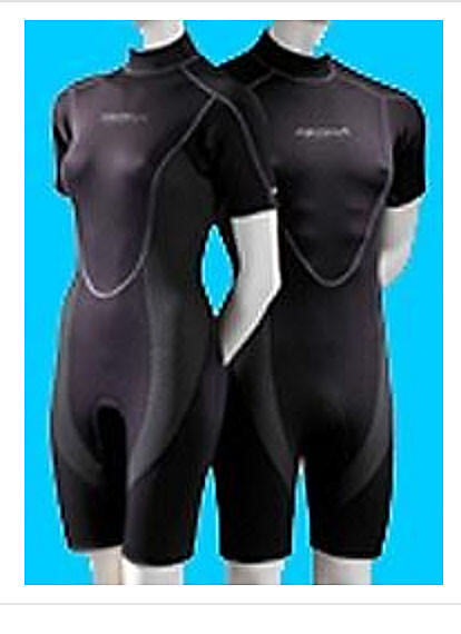 AKONA 3mm Shortie Wetsuit    - Mens and Womens