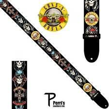 Perris Guns 'N' Roses Guitar Strap - 'Skulls'