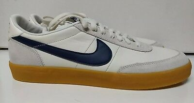 low priced 66e3a 5b5a5 Nike Killshot 2 Leather Size 11 Sail Midnight Navy Gum White Blue 432997-107