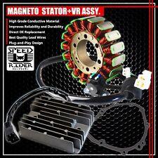 99-07 HAYABUSA GSX-1300 MAGNETO COIL STATOR+VOLTAGE REGULATOR RECTIFIER+GASKET