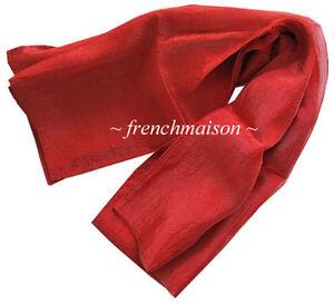 ITALIAN-HAND-SEWN-MADE-in-Venice-2-SIDES-SILK-NYLON-Fine-SCARF-Gift-New