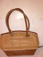 Authentic Tignanello Honey/cognac Color Me Classy Handbag Detach Tag $129msr
