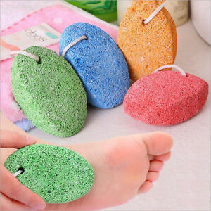 1x-Double-sided-Rubbing-Foot-Stone-Volcanic-Pumice-Grinding-Massage-Health-Care