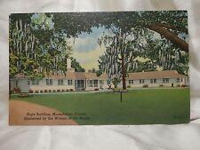 POST CARDS 1957 Hope Building Moosehaven Florida Women Of The Moose VINTAGE