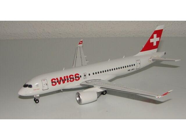 SWISS Bombardier CS100 (HB-JBA), 1 200, Herpa