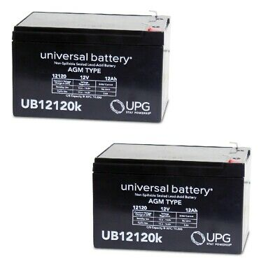 12V 5Ah F2 SLA Currie eZip 130 Replacement Battery