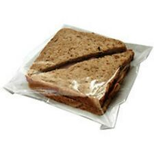 "Film Front Bags 7x7"" (1000) Sandwich Bag, Paper Takeaway Packaging"