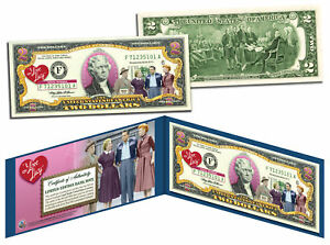 I-LOVE-LUCY-Legal-Tender-U-S-2-Bill-OFFICIALLY-LICENSED-Lucille-Ball-w-Folio