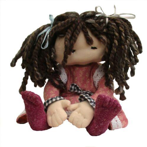 approx. 27.94 cm 23 Cm altura de 11 in Muñeca de juguete suave de tela Dilly patrón de costura