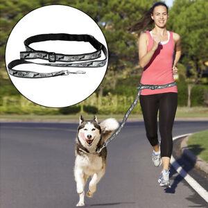 Boss Pet Leash Belt Hands-Free Dog Run Walk Jog Push Stroller Gray All-Weather