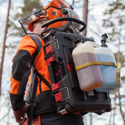 BaSt-Ing Kanister Adapterplatte für Tragesystem für den ValFast Spindelkeil