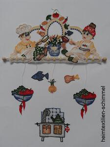 Aimable Plauener Dentelle ® Carillon Koch & Cuisinière Fensterbild Cuisine Décoration Des Fenêtres-ion Fr-fr Afficher Le Titre D'origine