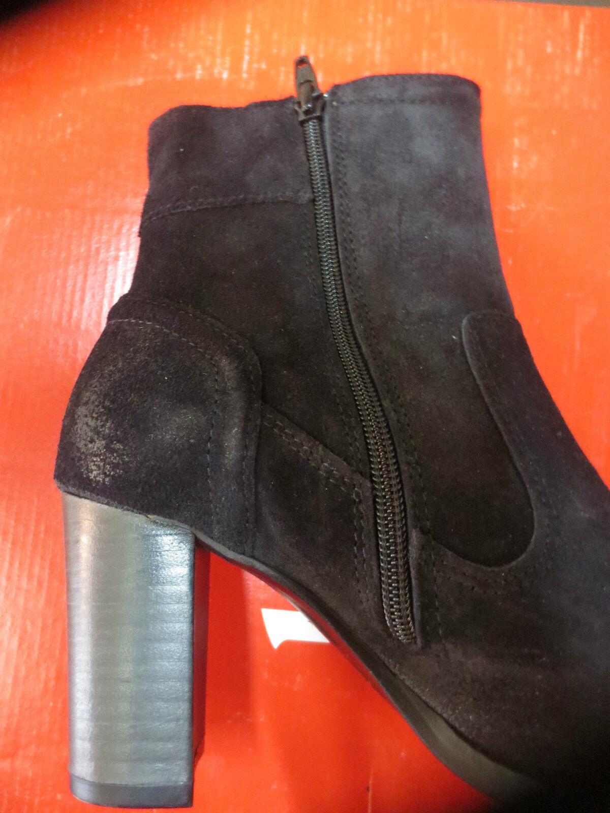 KICKERS Stiefel cuir velour noire Talon 7cm NEUVE NEUVE 7cm Valeur 145E Pointures 37,39. 0961b2