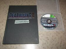 Dead Rising 2 (Microsoft Xbox 360, 2010) With Hard Cover Strategy Guide
