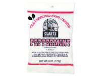 3 Packages Of Claeys Peppermint Drops Hard Candy With Free Shipping