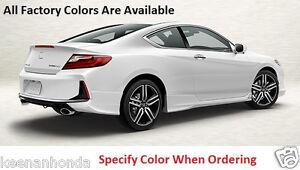 Image Is Loading Genuine Oem Honda Accord 2dr Cpe Rear Under