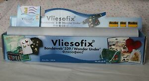 3m Bondaweb  Wonder Under by Vliesofix 45cm Wide - Cambridge, United Kingdom - 3m Bondaweb  Wonder Under by Vliesofix 45cm Wide - Cambridge, United Kingdom