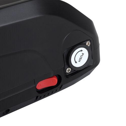 Li-ion E-bike Akku 48V12,5Ah 601Wh Ladegerät für Pedelec Fahrrad Batterie USB