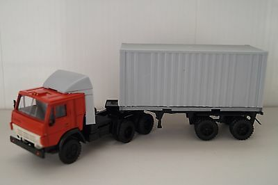 USSR KAMAZ-54112 Container Russian long vehicle truck 1:43 diecast scale model
